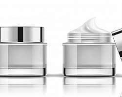 Frascos e potes para cosméticos