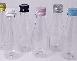 Embalagens frascos plásticos