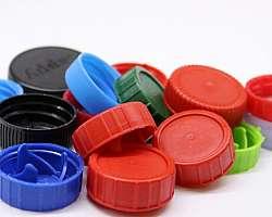 Tampinhas de plastico