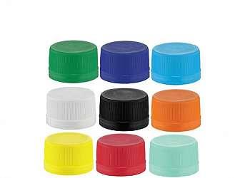 Tampas para embalagens plásticas