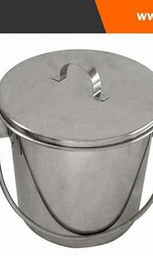 balde de inox 20 litros
