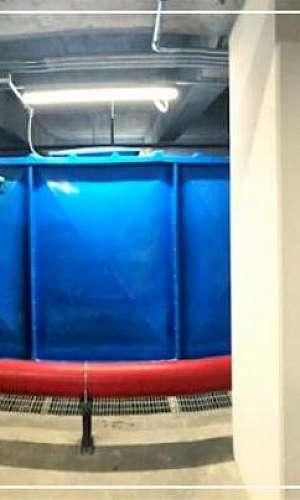 Caixa d'água de grande porte