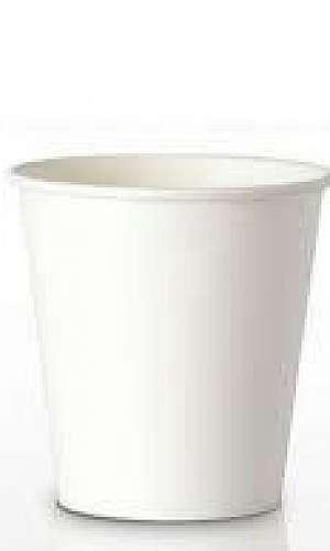 Copo biodegradável de papel