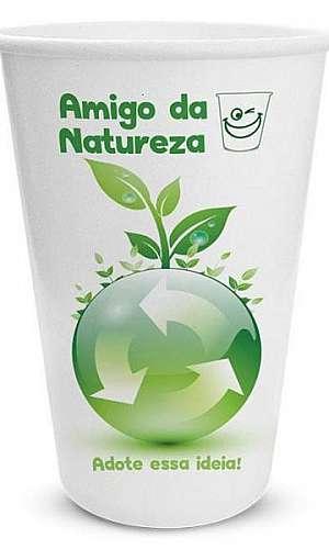 Copo biodegradável