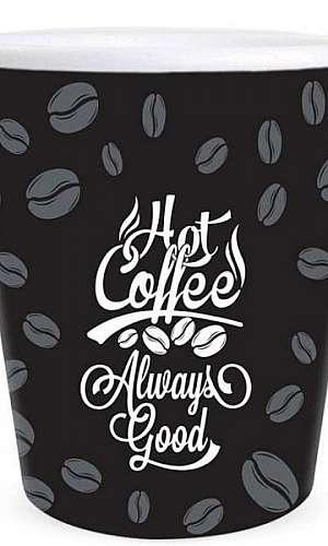 Copo café descartável personalizado