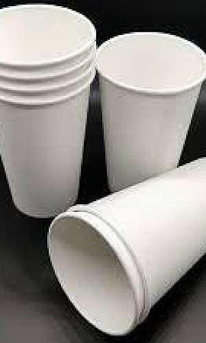 Copo de papel biodegradável personalizado SP