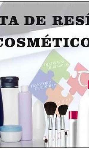 Descarte de cosméticos