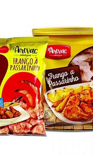 Embalagem para frango congelado