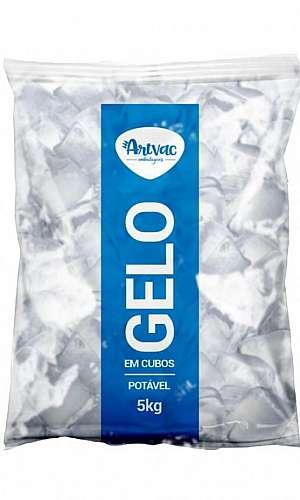 Embalagem para gelo