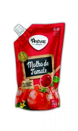 Embalagem plástica para molho de pimenta