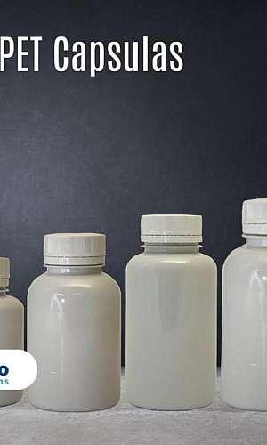 Embalagens pet para encapsulados