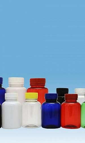 Embalagens pet para fármacos