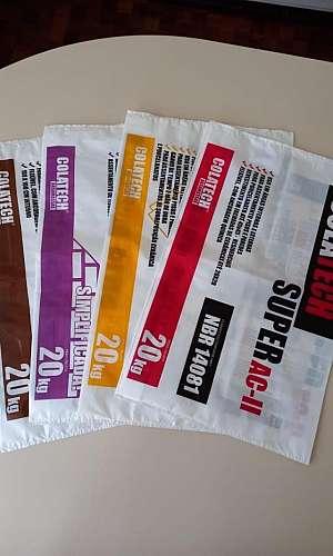 Embalagens plásticas personalizadas