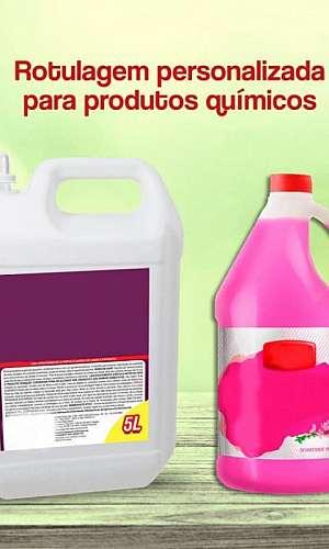 Etiquetas para produtos químicos