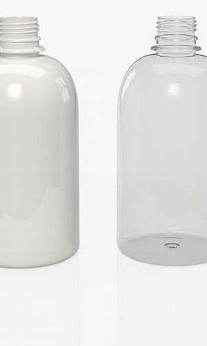 Frasco de plástico para sabonete líquido