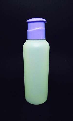 Frasco para shampoo