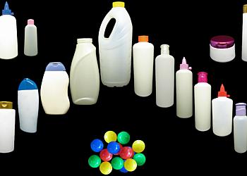 Indústria de frascos plásticos para cosméticos