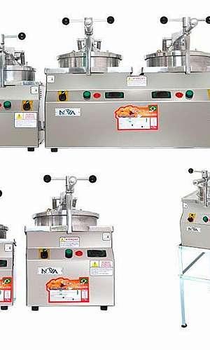 Fritadeira de frango industrial