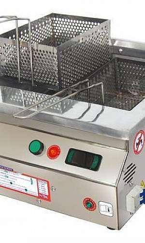 Fritadeira elétrica de batata industrial