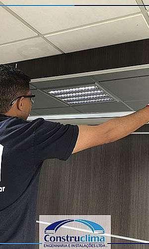 Manutenção de ar condicionado
