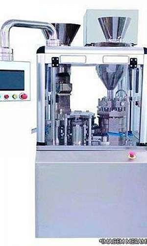máquina de encapsular comprimidos