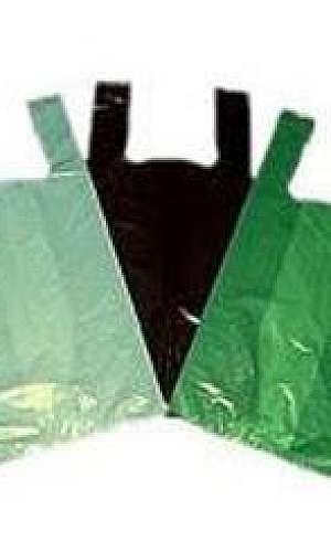 Saco plastico biodegradavel