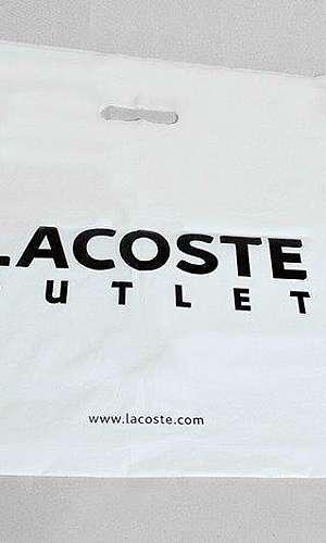 Sacola plastica personalizada