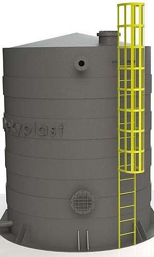 Tanque cilíndrico vertical